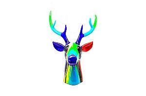 Escultura Decorativa Alce Color