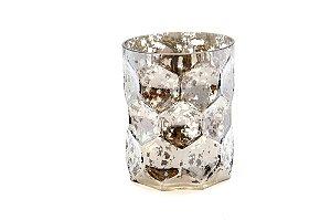 Vaso Decorativo Lunar Prata