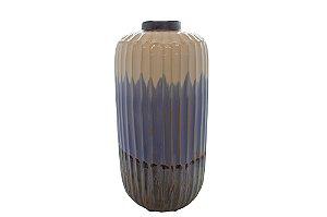 Vaso Decorativo Azul Corten Grande