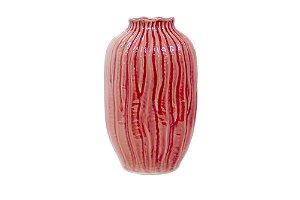 Vaso Decorativo Rosa Bromélia Grande