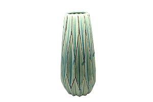 Vaso Decorativo Verde Grass Grande