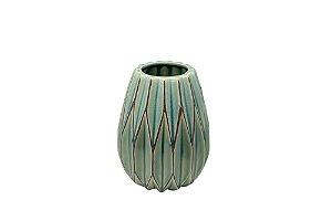 Vaso Decorativo Verde Grass Pequeno