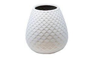 Vaso Decorativo Cinza Ninho