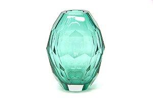 Vaso Decorativo Verde Diamante