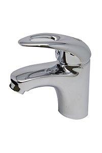 Torneira Banheiro Monocomando Prata