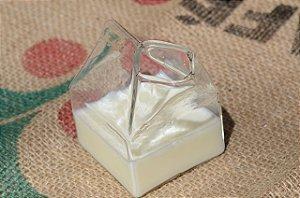 Copo/jarra em formato de caixa de leite EUA