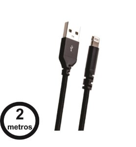 Cabo Lightning Force Cable Easy Mobile 2m Kevlar