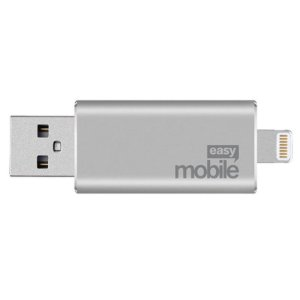 Pen Drive Easy Mobile Penstore Lightning Prata 32GB