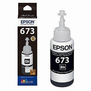 Refil de Tinta Epson T673120-AL Preto