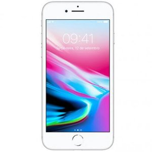 iPhone 8 Apple Prata 64GB Desbloqueado - MQ6H2BZ/A