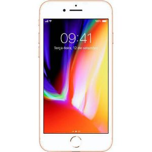 iPhone 8 Apple Dourado 256GB Desbloqueado - MQ7H2LL/A