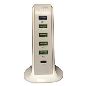 Torre USB Desktop Charger Tower 6X da Easy Mobile