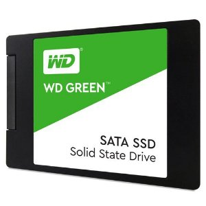 SSD WD Green 2.5 - 120GB SATA III 6Gb/s Leituras: 545MB/s e Gravações: 430MB/s - WDS120G2G0A