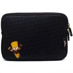 Case Sleeve Luva Macbook Notebook Chromebook 11.6 The Simpsons Bart Estilingue - Iwill