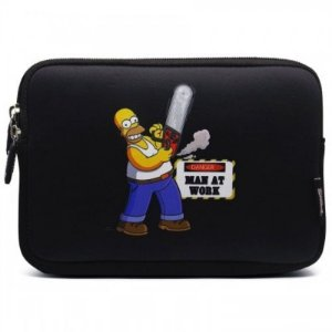 Case Sleeve Luva Macbook Notebook Chromebook 11.6 The Simpsons Homer - Iwill