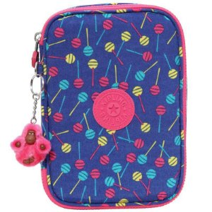 Estojo 100 Pens - Blue Lollipop - Kipling