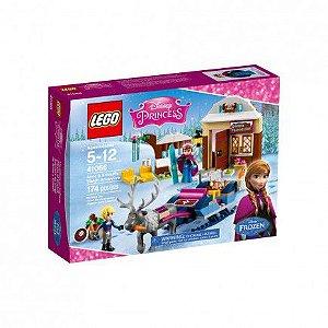 Lego Disney - 41066 - A Aventura de Trenó de Anna e Kristoff