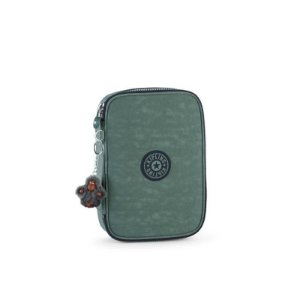 Estojo 100 Pens - Dark Green C - Kipling