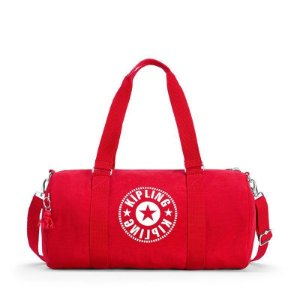 Bolsa Sacola Onalo Vermelha Lively Red Kipling