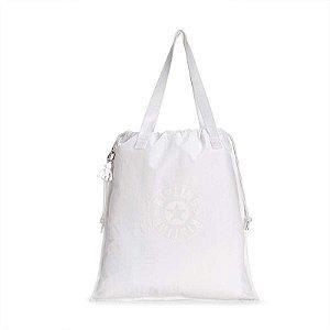 Bolsa de Ombro - New Hiphurray Branca - Lively White Kipling