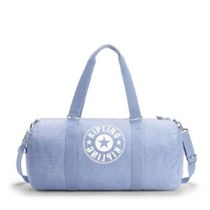 Bolsa de Viagem Grande Onalo L Azul Timid Blue Kipling