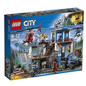 LEGO City - Quartel-General da Polícia na Montanha - Original Lego