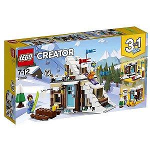 LEGO Creator - Modelo 3 em 1: Férias de Inverno - Original Lego