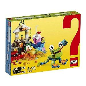 LEGO Building Bigger Thinking - Mundo Divertido - Original Lego