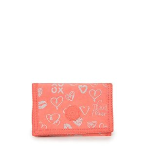 Carteira Mickylina - Hearty Pink Met - Kipling
