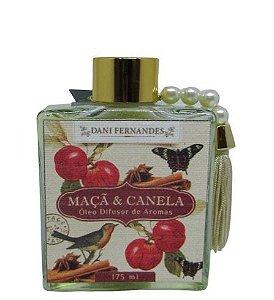 Difusor de Aromas - 175ml - Secret Garden Maça e Canela - Dani Fernandes