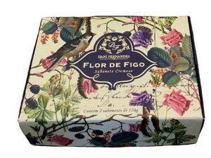 Kit Sabonete em Barra - 2uni de 120g - Flor de Figo - Dani Fernandes