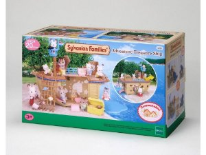 Sylvanian Families - Navio do Tesouro