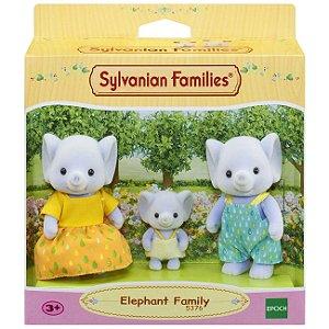 Sylvanian Families - Família dos Elefantes