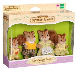 Sylvanian Families - Família dos Esquilos Noz