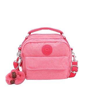 Bolsa de Mão Puck - Fiesta Pink - Kipling
