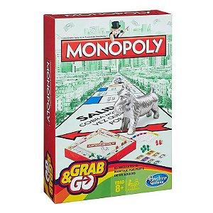 Jogo Grab e Go - Monopoly - Hasbro Gaming