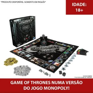 Jogo - Monopoly Game Of Thrones - Hasbro Gaming