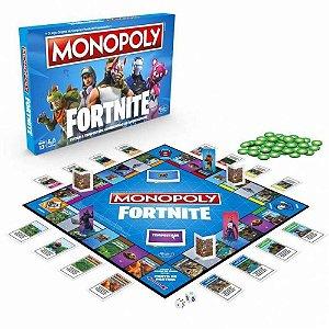 Jogo - Monopoly Fortinite - Hasbro Gaming