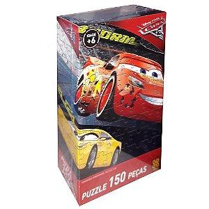 Jogo - Quebra Cabeça Carros 3 150pçs - Grow