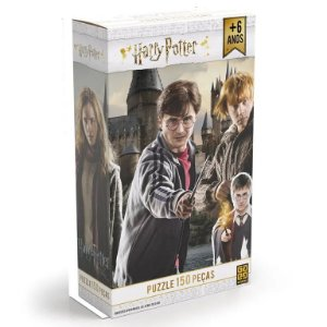 Jogo - Quebra Cabeça Harry Potter 150 pçs - Grow