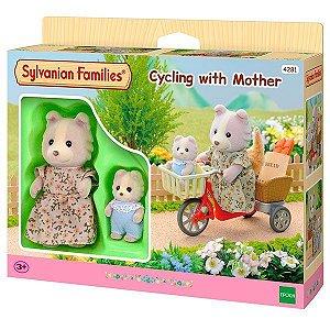 Sylvanian Families - De Bicicleta com a Mamãe