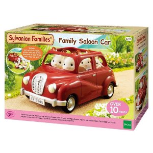 Sylvanian Families - Carro Sedan Da Familia