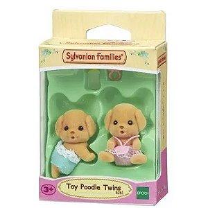 Sylvanian Families - Gêmeos Poodle Toy