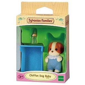 Sylvanian Families - Bebê Cachorro de Seda
