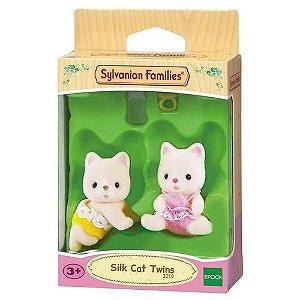 Sylvanian Families - Gêmeos Gato de Seda