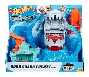 HotWheels - Robô Tubarão