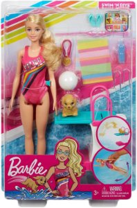 Barbie - Dreamhouse Nadadora