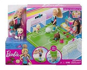 Barbie - Dreamhouse Chelsea Futebol com Cachorrinho