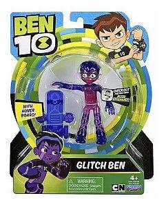 Ben 10 - Figuras de Ação Ben Glitch