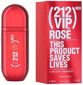 Perfume Feminino - 212 Vip Red Rose - Carolina Herrera Original
